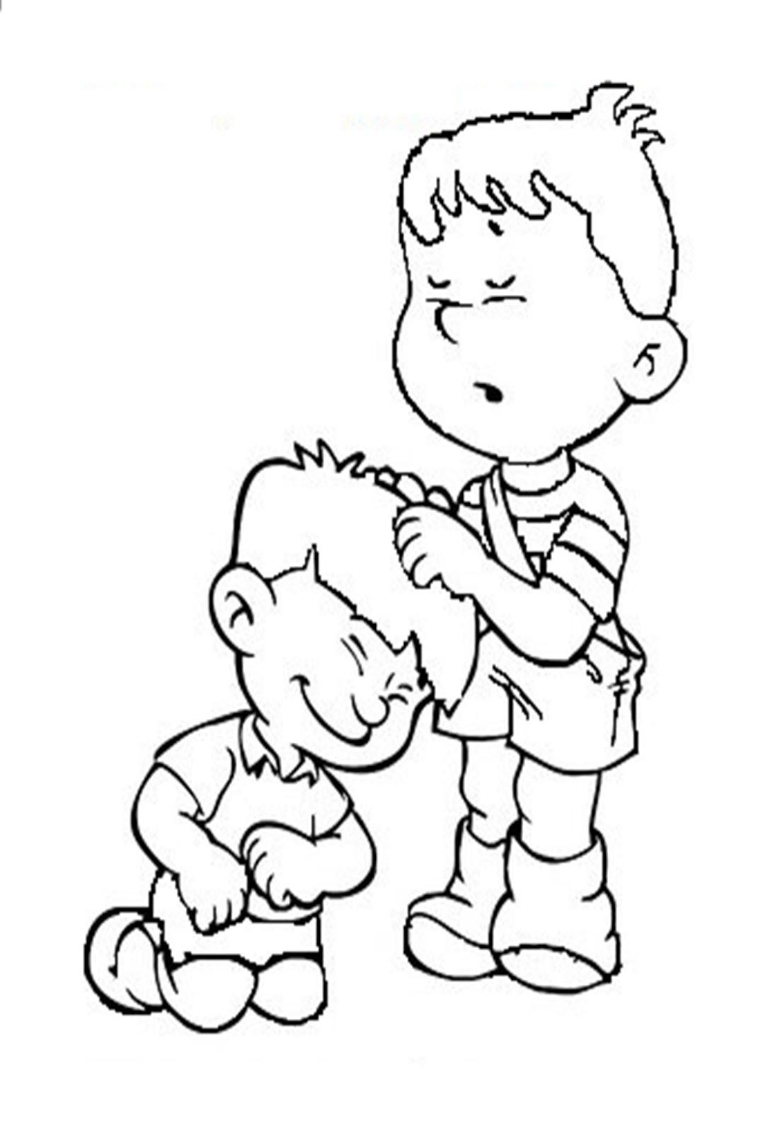 Turma Do Vovo Abraao Desenho De Criancas Orando