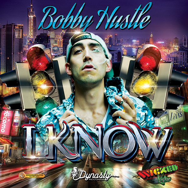 Bobby Hustle I Know Album Cover Design Artwork Traffic Light Alternate 2