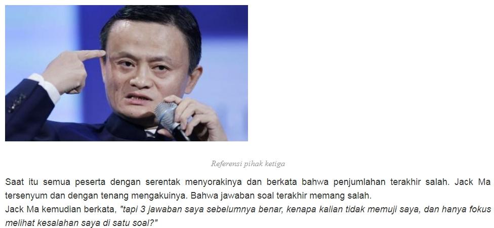 Jack Ma Disoraki Diprotes Saat Tulis 9 9 19 Namun Jawabannya Membungkam Semua Orang Berita Serabutan
