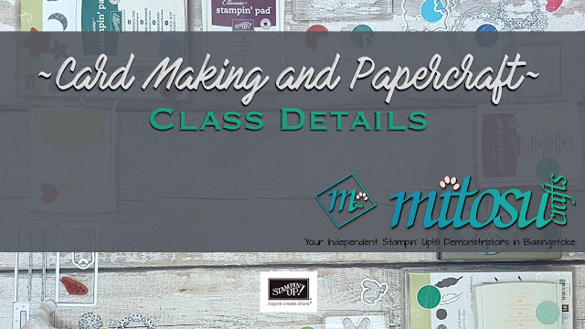 Cardmaking and Papercraft Class in Basingstoke with Mitosu Crafts #createwithmitosu