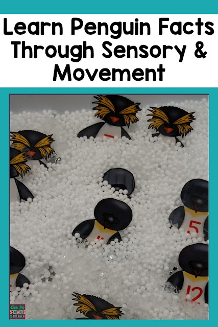 Integrate sensory and movement into the penguin unit