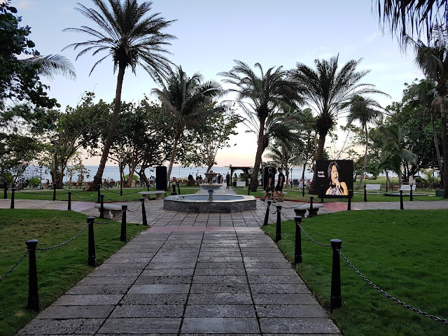 Jardim do Hotel, que fica na parte de trás - Hotel Nacional - Vedado - Havana
