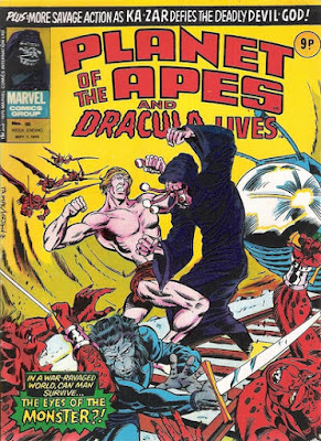 Marvel UK, Planet of the Apes #98