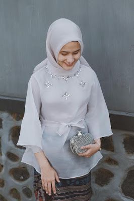 hijab organza warna hijab organza warna peach