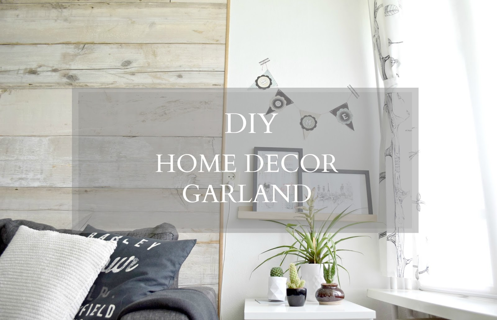 diy home decor garland