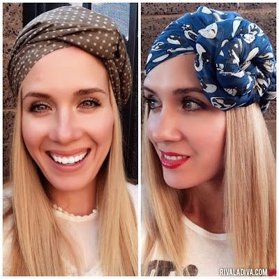 10 razones para usar turbantes en la cabeza