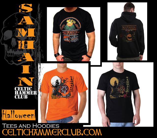 Celtic Hammer Club Men's Samhain (Halloween) Tees