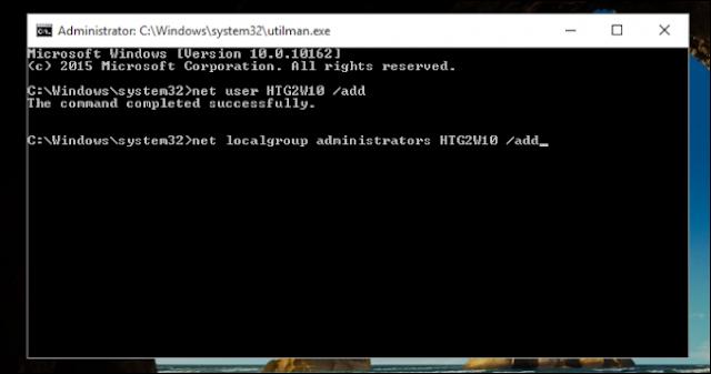 buat username akun baru via cmd di login screen