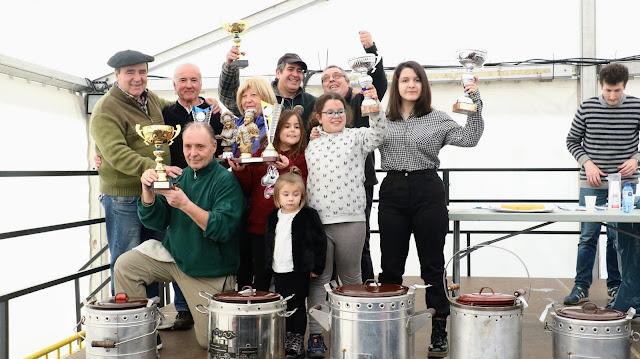 Ganadores de los concursos gastronómicos