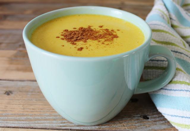 Paleo Cinnamon Cardamom Turmeric Latte