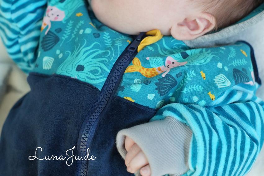 LunaJu **☆: *** Die kleine Meerjungfrau- Probenähen für Stoff& Liebe