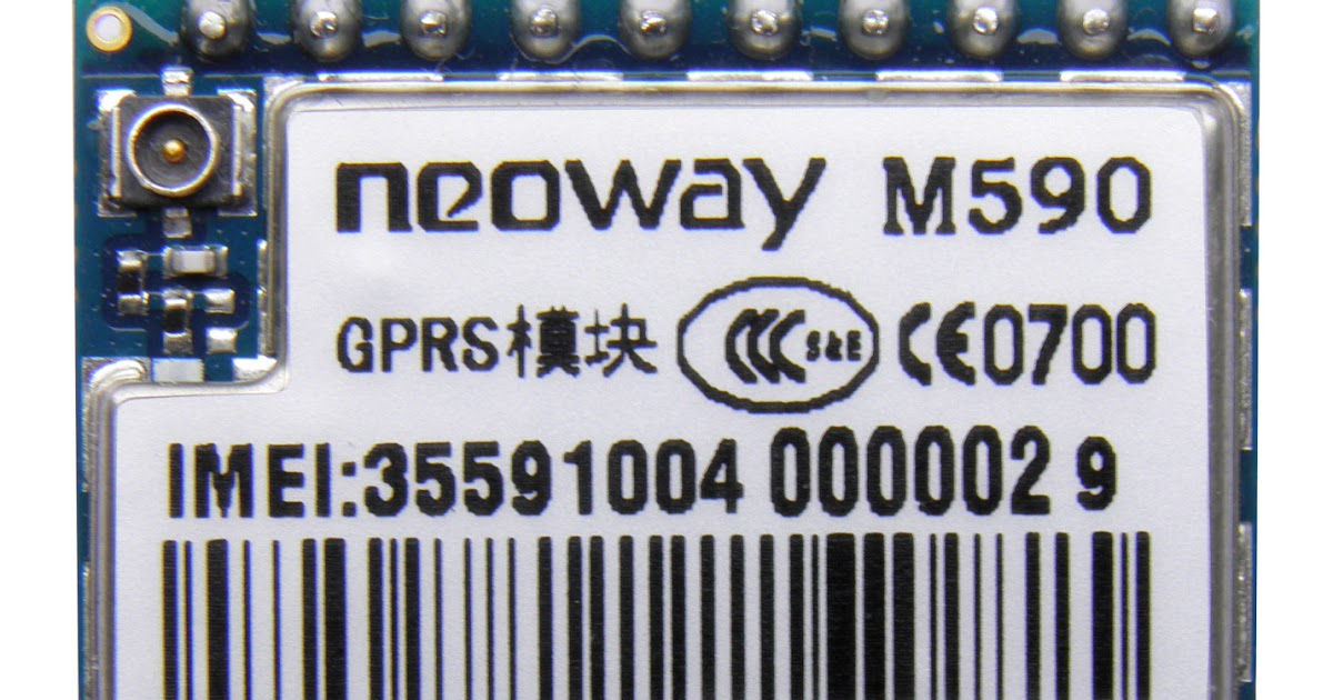 Neoway M590 GPRS Tutorial: sending and receiving files from/to SD card