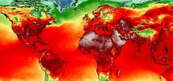 ( FOTOS ) Alertas Potente Ola De Calor En Casi Todo El Planeta Tierra.