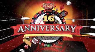 Watch ROH Wrestling 16th Anniversary 3/9/2018