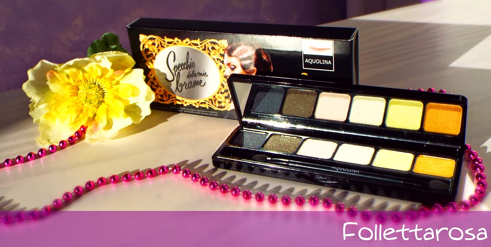 make up aquolina palette