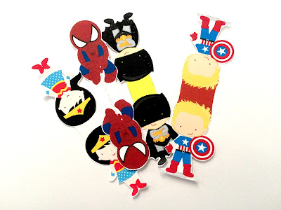 Make your own Superhero magnetic bookmarks for your next superhero read.  These fun graphics from the Avengers and the Super Friends will keep your page safe and you'll be surprised with how easy they are.  You'll think you have superpowers too!