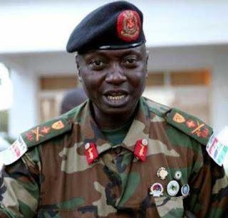 Gambia's army chief General Ousman Badjie