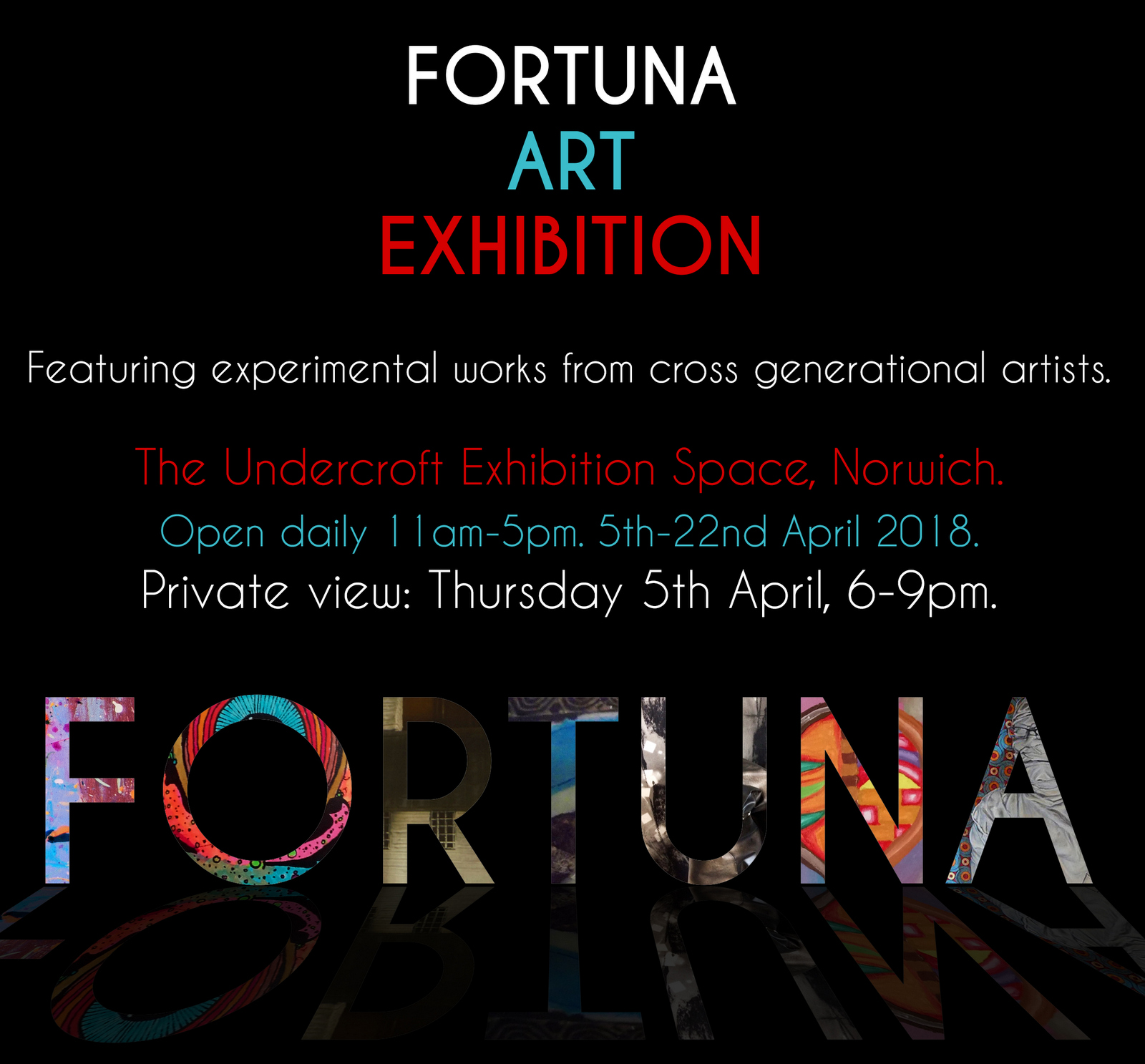 09ee9f63e133 SEVENTEEN DAYS TO THE FORTUNA EXHIBITION, NORWICH - 2018   Rupert Mallin