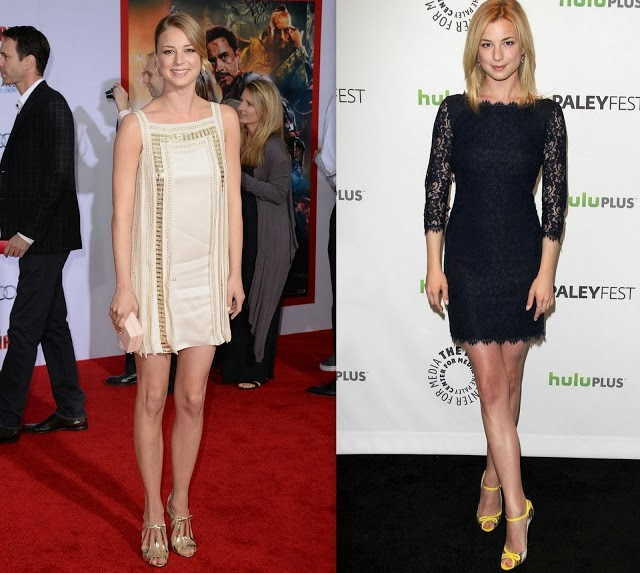 Emily Vancamp red carpet vestido de festa
