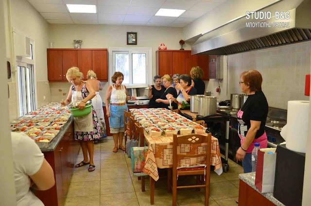 Πρόσκληση για εθελοντές στο συσσίτιο του Ιερού Ναού Ευαγγελίστριας στο Ναύπλιο