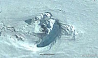 Antiga Ruinas encontrada na Antartida