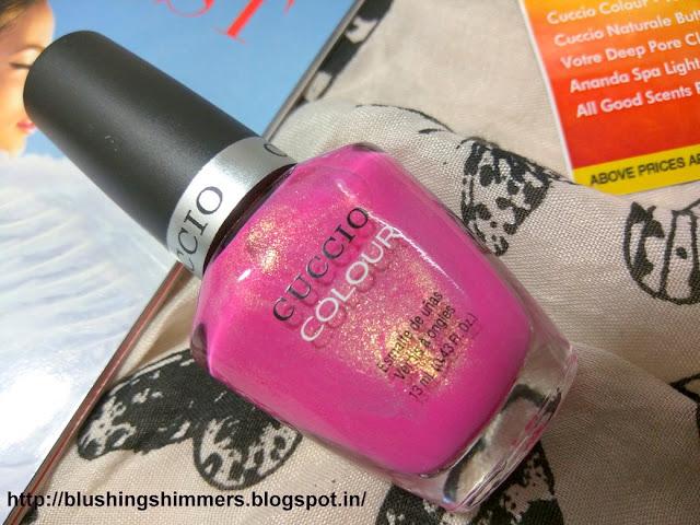 cuccio nail paint-totally tokyo