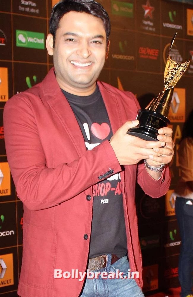 Kapil Sharma, Star Guild Awards 2014 Pics