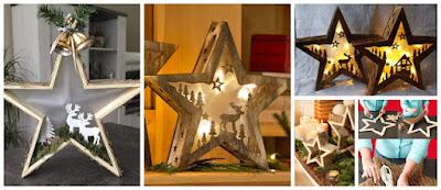 estrellas-navideñas-madera