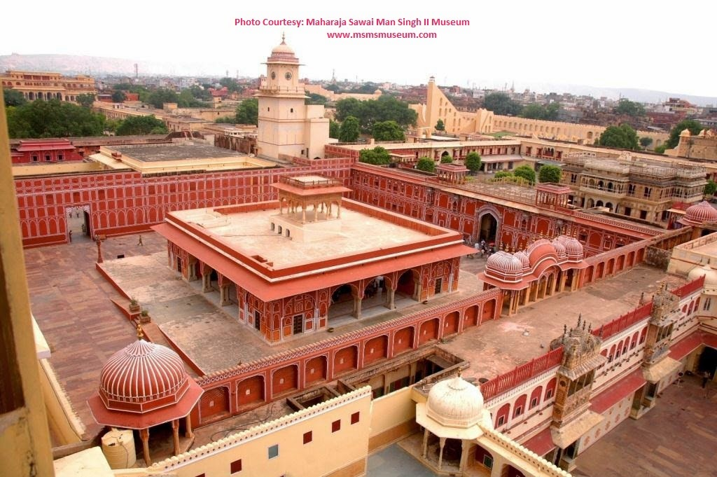 Arial view of Jaipur city Palace - Rajasthan, India - Pick, Pack, Go
