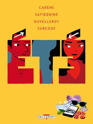 Couverture de Eté, BD de Thomas Cadène, Josef Saffiedine, Camille Duyvelleroy et Erwann Surcouf