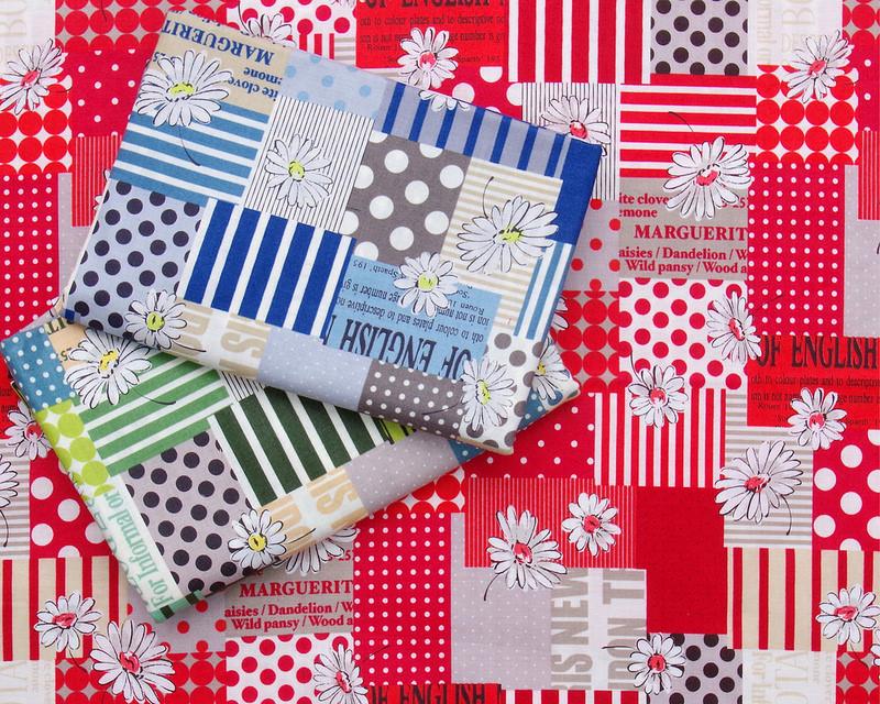 Sunday Stash - Japanese fabri by Suzuko Koseki for Yuwa Fabrics | © Red Pepper Quilts 2018