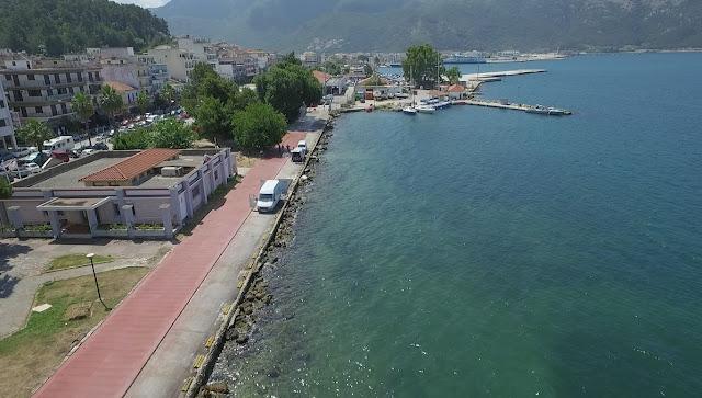 Ολοκληρώνεται η πεζοδρόμηση της παραλίας της Ηγουμενίτσας (+ΒΙΝΤΕΟ)