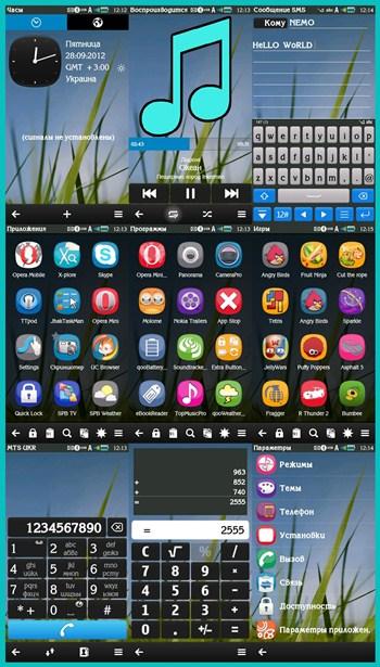 Jslimaye: Nokia Belle Evolve - Signed Free Theme - Symbian S