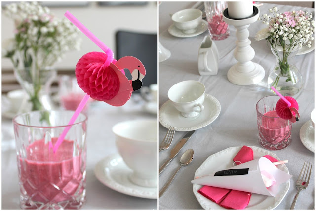 8 kreative Babyparty Ideen Babyshower Party Girl rose ideas creative Babyparty Tischdeko