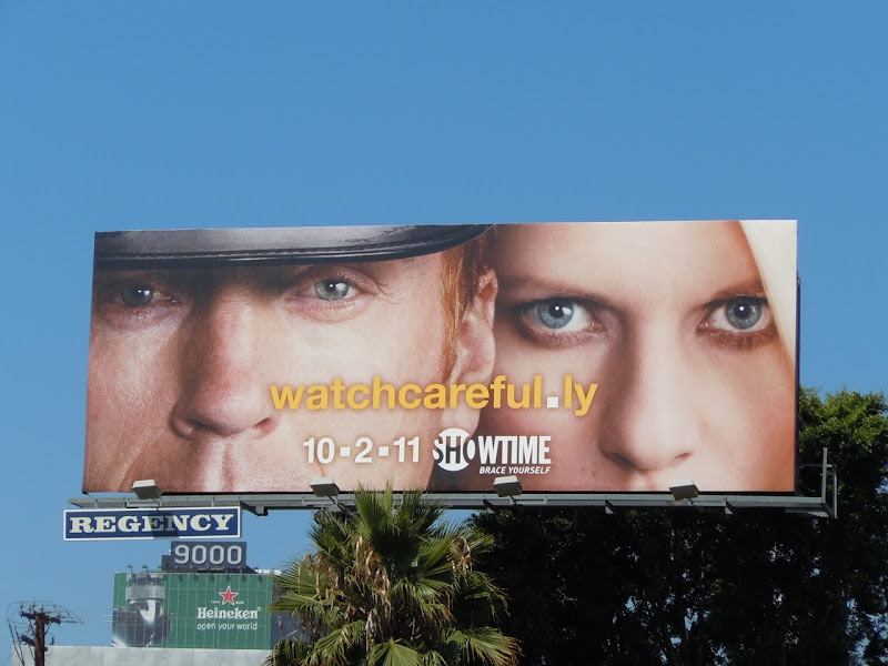 Watch Carefully Homeland billboard