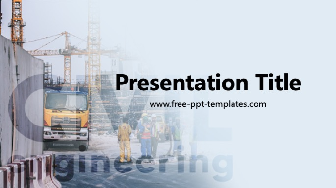 Civil Engineering Ppt Template