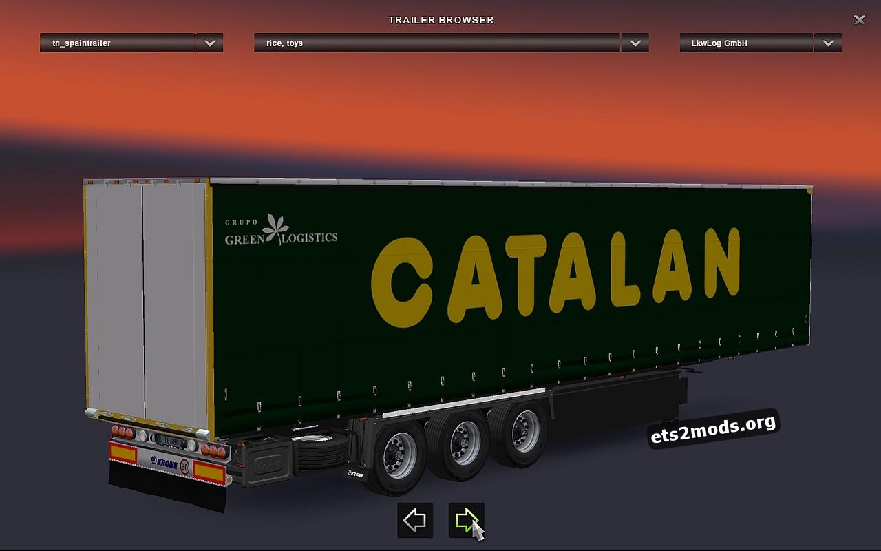 Standalone Spain Trailers Pack v 1.1