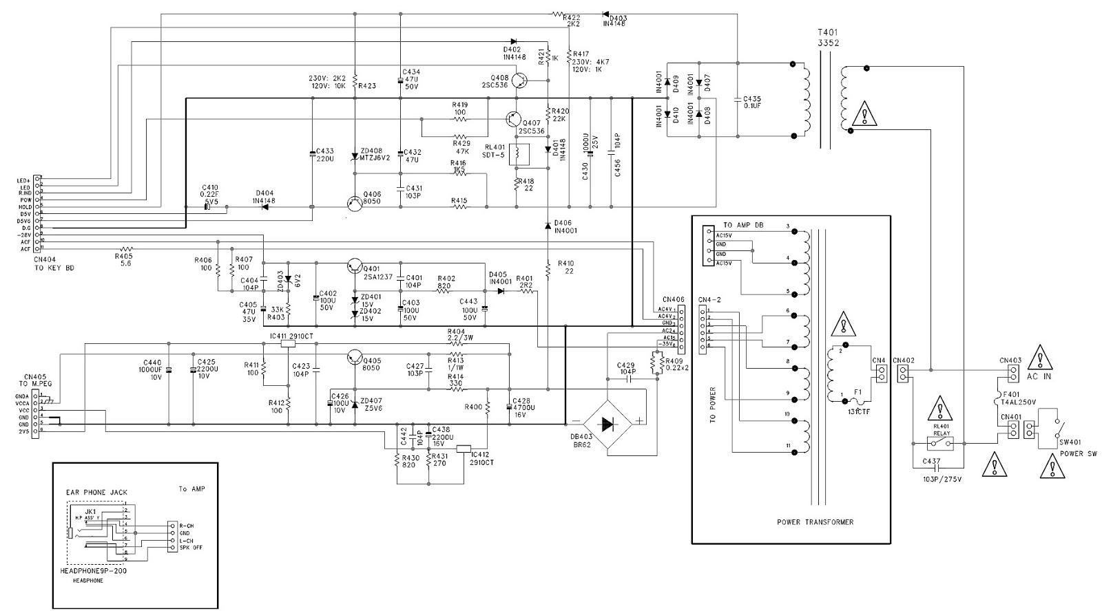 Home Power Saver Circuit Diagram Chrysler Sebring Radio Wiring Akira Hts28dvd Theater System Schematic