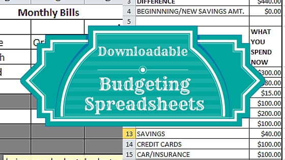 budgeting spreadsheets