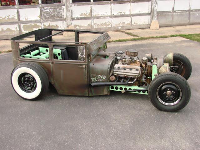 Old 4 Door Trucks For Sale >> Rat rod 1926 Dodge Brothers Sedan 1926 Pictures Gallery - Hot Rod Cars