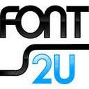 Fonts2u logo