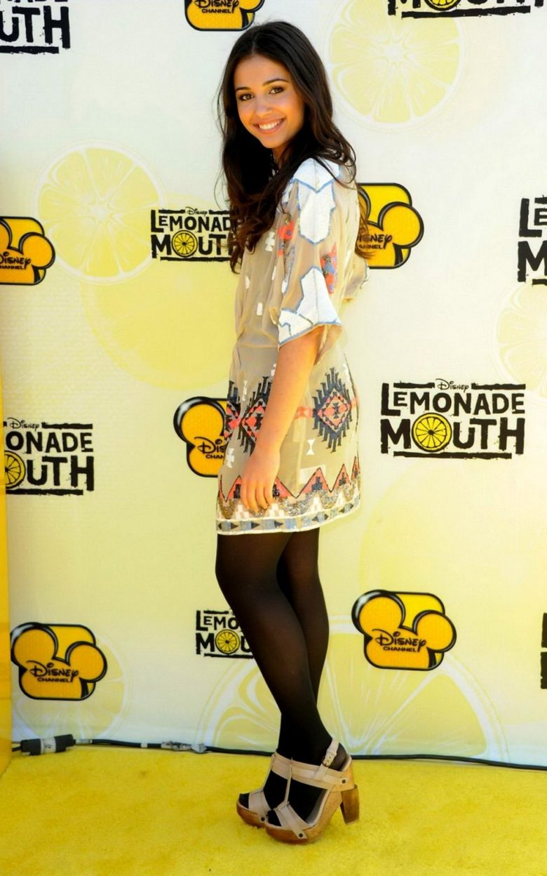 Naomi Scott legs pantyhose
