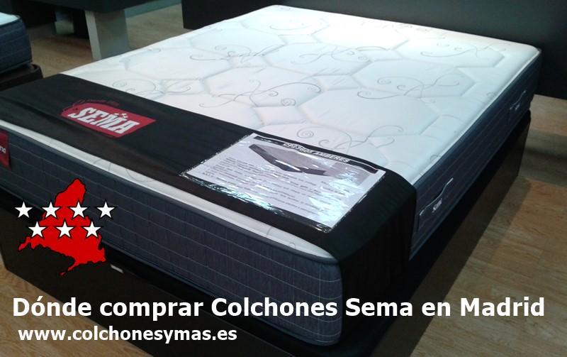Dónde comprar colchones Sema en Madrid