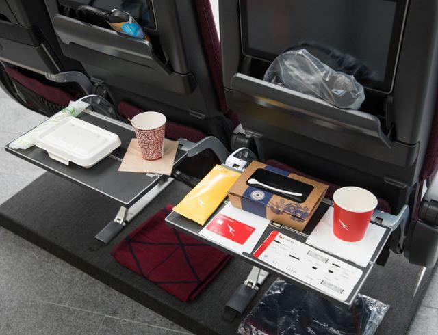 Qantas opera primer vuelo con cero desechos del mundo