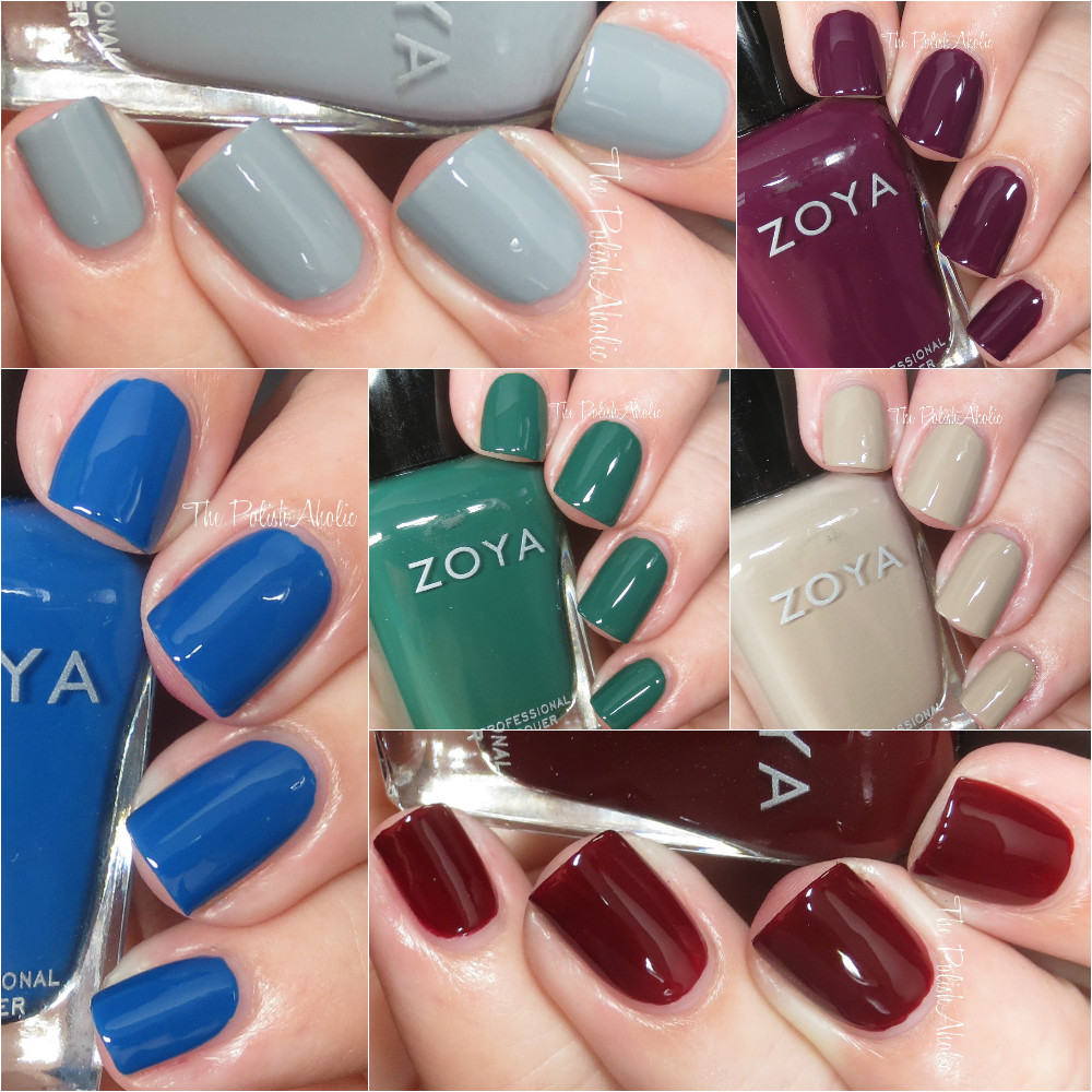 The PolishAholic: Zoya Fall 2016 Urban Grunge Collection Cremes ...