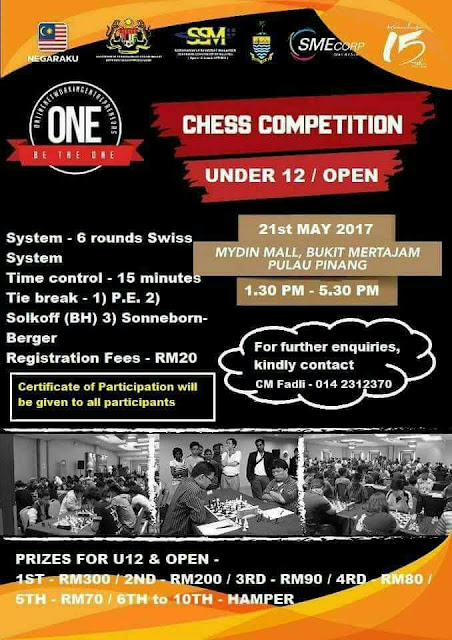Chess Competition at Mydin Mall (21/5/17)