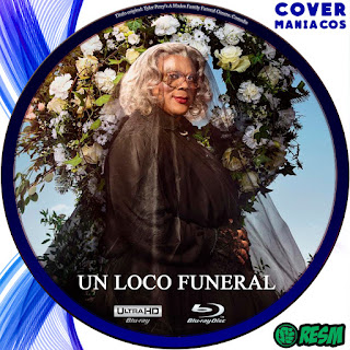 GALLETA UN LOCO FUNERAL - TYLER PERRY´S A MADEA FAMILY FUNERAL - 2019 [COVER BLU RAY]