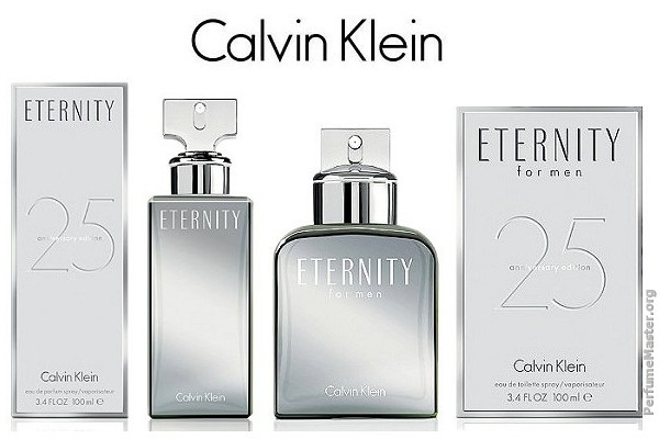 25th Anniversary Gifts For Men: *New 2014 Fragrance* CK Eternity 25th Anniversary Edition