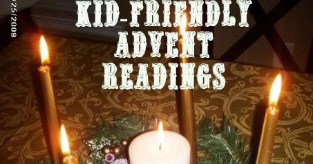 Mommyjustine Kid Friendly Advent Readings