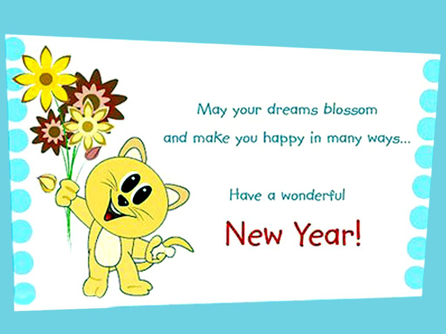Happy New Year Images Wallpapers] New Year Greeting Cards - Badhaai.com